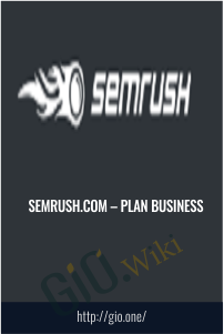 Semrush.com – Plan BUSINESS