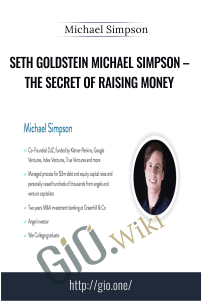 The Secret of Raising Money - Michael Simpson