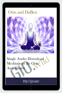 Single Audio Download Meditations - Orin & DaBen