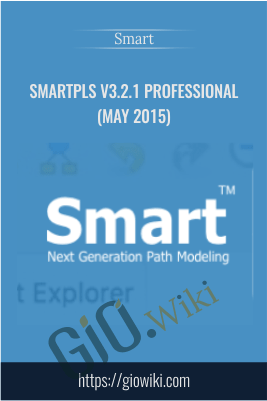 SmartPLS v3.2.1 Professional (May 2015)