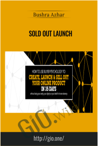 Sold Out Launch – Bushra Azhar