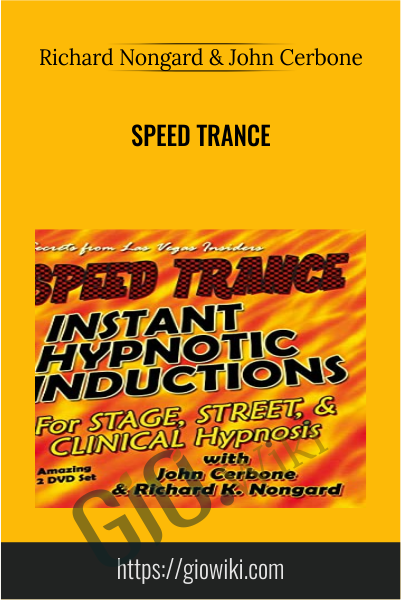 Speed Trance - Richard Nongard & John Cerbone