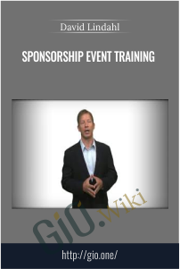 Sponsorship Event Training – David Lindahl