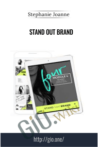 Stand Out Brand – Stephanie Joanne