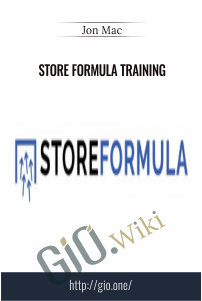 Store Formula Training – Jon Mac