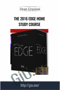 The 2016 Edge Home Study Course – Dean Graziosi