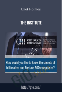 The Institute – Chet Holmes