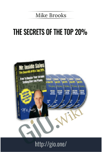 The Secrets of the top 20% – Mike Brooks
