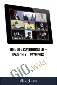 Time Life Continuing Ed – iPad Only – Payments