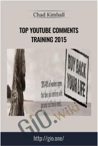 Top Youtube Comments Training 2015 – Chad Kimball