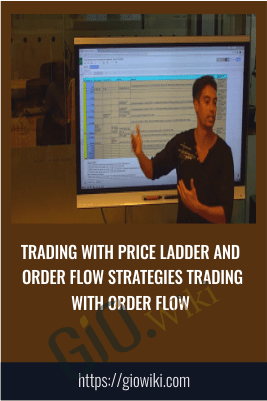 Trading With Price Ladder And Order Flow Strategies Trading With Order Flow