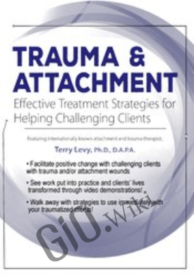 Trauma & Attachment: Effective Treatment Interventions - Terry Levy