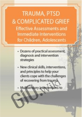 Trauma, PTSD & Complicated Grief: Effective Assessments and Immediate Interventions for Children, Adolescents and Adults