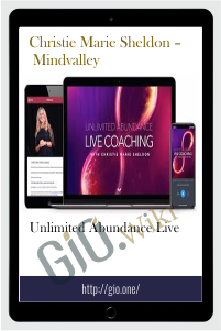 Unlimited Abundance Live – Christie Marie Sheldon – Mindvalley