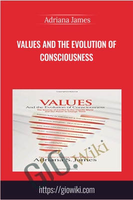 Values And the Evolution of Consciousness -  Adriana James