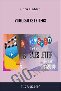 Video Sales Letters –  Chris Haddad