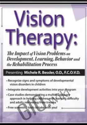 Vision Therapy: The Impact of Vision Problems on Development, Learning, Behavior and the Rehabilitation Process - Michele R. Bessler