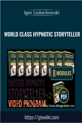 World Class Hypnotic Storyteller - Igor Ledochowski