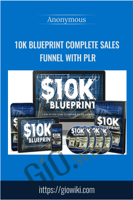 10k Blueprint Complete Sales Funnel With PLR