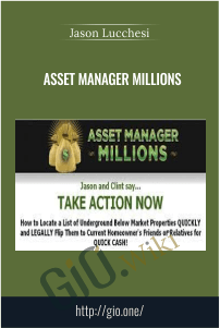 Asset Manager Millions – Jason Lucchesi