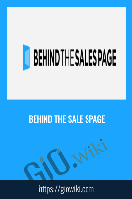 Behind The Sales Spage