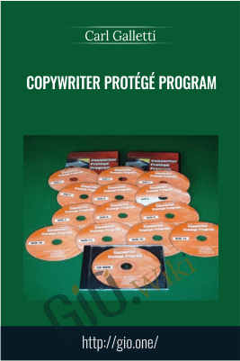 Copywriter Protege Program – Carl Galletti