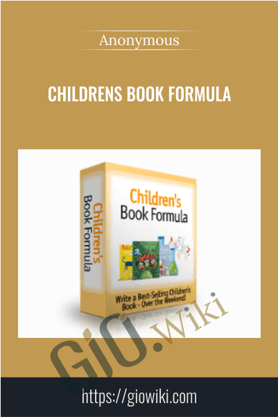 Childrens Book Formula