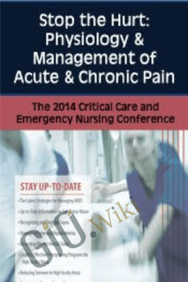 Stop the Hurt: Physiology & Management of Acute & Chronic Pain - Sean G. Smith