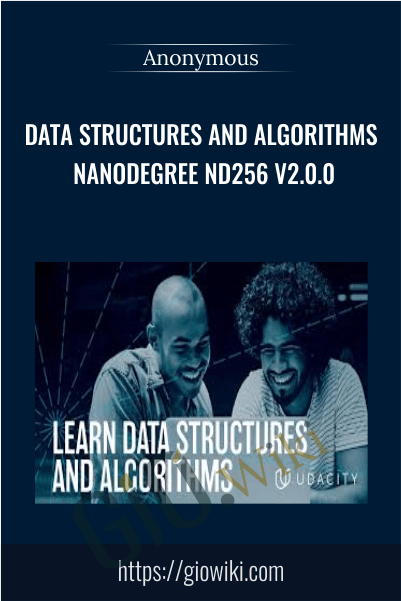 Data Structures and Algorithms Nanodegree nd256 v2.0.0