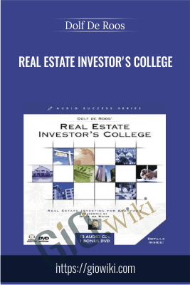 Real Estate Investor's College - Dolf De Roos