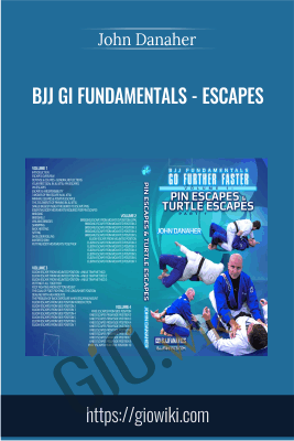 BJJ Gi Fundamentals - Escapes - John Danaher