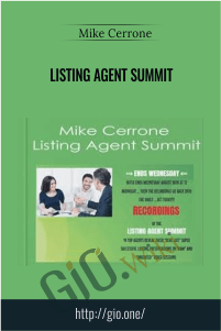Listing Agent Summit – Mike Cerrone