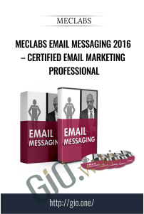 MECLABS Email Messaging 2016 – Certified Email Marketing Professional