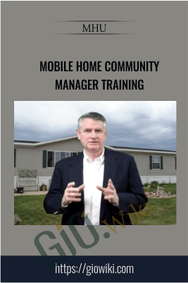 Mobile Home Community Manager Training – MHU