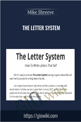 The Letter System – Mike Shreeve