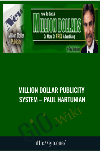Million Dollar Publicity System – Paul Hartunian