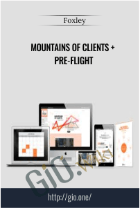 Mountains of Clients + Pre-Flight – Foxley