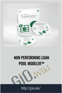 Non Performing Loan Pool Modeler™