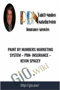 Paint By Numbers Marketing System – PBN: Insurance – Kevin Spacey