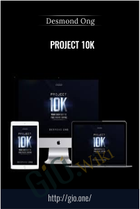 Project 10K – Desmond Ong