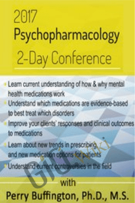 Psychopharmacology 2-Day Conference - Perry W. Buffington