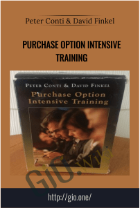 Purchase Option Intensive Training – Peter Conti & David Finkel