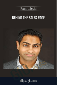 Behind The Sales Page - Ramit Sethi
