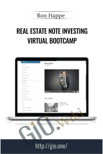 Real Estate Note Investing Virtual Bootcamp – Ron Happe (The Note Mogul Team)