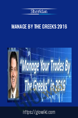 Manage By The Greeks 2016 - Sheridan