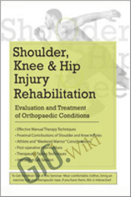 Shoulder, Knee, and Hip Injury Rehabilitation: Evaluation and Treatment of Orthopaedic Conditions - Ryan August