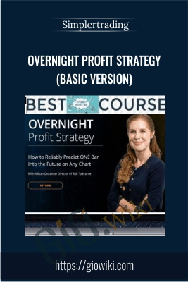OVERNIGHT Profit Strategy (Basic version) - Simplertrading