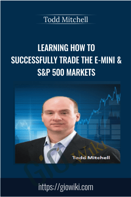 Learning How to Successfully Trade the E-mini & S&P 500 Markets – Todd Mitchell