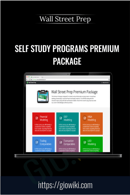 Self Study Programs Premium Package – Wall Street Prep