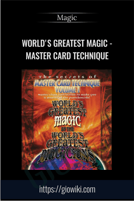 Master Card Technique - World's Greatest Magic